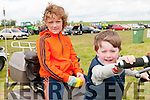 Lixnaw Vintage Rally : Pictured at the Lixnaw Vintage Rally on Sunday last were Mickey & Adam Fealy, Lixnaw.