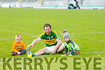 Kerry Hurler Mikey Boyle from Ballyduff  'warming-down' with son and nephew Bobby Boyle,  Bruce  Boyle after Kerry's win over Carlow at Austin Stack's park on Sunday