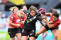 Laura Marui, New Zealand v Canada - Women's Rugby League World Cup match at Southern Cross Group Stadium, Sydney, Australia on 16 November 2017.<br /> Copyright photo: Delly Carr / www.photosport.nz MANDATORY CREDIT/BYLINE : Delly Carr/SWpix.com/PhotosportNZ