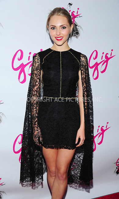 ACEPIXS.COM<br /> <br /> April 8 2015, New York City<br /> <br /> AnnaSophia Robb arriving at the 'Gigi' Broadway Opening Night at the Neil Simon Theatre on April 8, 2015 in New York City. <br /> <br /> By Line: William Bernard/ACE Pictures<br /> <br /> ACE Pictures, Inc.<br /> www.acepixs.com<br /> Email: info@acepixs.com<br /> Tel: 646 769 0430