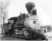 D&amp;RGW #315 on display in Durango, Colorado. Renumbered from D&amp;RGW #425.<br /> D&amp;RGW  Durango, CO  Taken by Payne, Andy M. - 5/6/1954