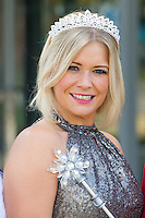 Suzanne Shaw at the Photocall to launch Cinderella Pantomime, Aylesbury Waterside Theatre, Buckinghamshire. 15/09/2014 Picture by: Dave Norton / Featureflash