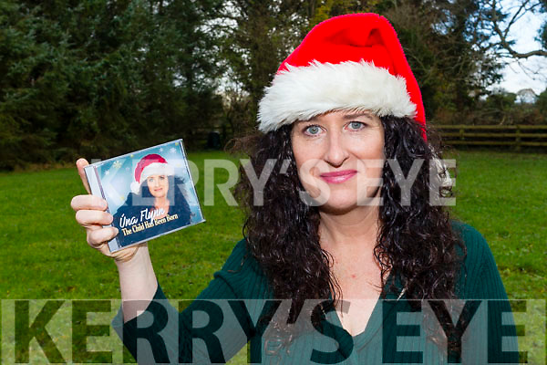 Una Flynn from Milltown who has launched a CD of Christmas songs featuring well known talented Kerry artists to raise funds to help children in Cambodia.