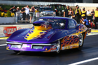 May 31, 2013; Englishtown, NJ, USA: NHRA top sportsman driver Arty DeCesare during qualifying for the Summer Nationals at Raceway Park. Mandatory Credit: Mark J. Rebilas-
