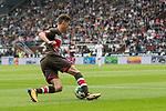 22.07.2017, Millerntor-Stadion, Hamburg, GER, FSP, FC St. Pauli vs SV Werder Bremen<br /> <br /> im Bild<br /> Luca Zander (St. Pauli #19) am Ball, <br /> <br /> Foto &copy; nordphoto / Ewert