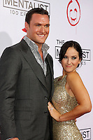 LOS ANGELES, CA - OCTOBER 13: Owain Yeoman and Gigi Yallouz at 'The Mentalist' 100th episode celebration at The Edison on October 13, 2012 in Los Angeles, California. © mpi22/MediaPunch Inc. /NortePhotoAgency