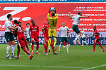 Florian Müller / Florian Mueller (FSV Mainz 05 #01), Niclas Füllkrug / Fuellkrug (Werder Bremen #11), Edimilson Fernandes (FSV Mainz 05 #20), Ádám Szalai / Adam Szalai (FSV Mainz 05 #28)<br /> <br /> <br /> Sport: nphgm001: Fussball: 1. Bundesliga: Saison 19/20: 33. Spieltag: 1. FSV Mainz 05 vs SV Werder Bremen 20.06.2020<br /> <br /> Foto: gumzmedia/nordphoto/POOL <br /> <br /> DFL regulations prohibit any use of photographs as image sequences and/or quasi-video.<br /> EDITORIAL USE ONLY<br /> National and international News-Agencies OUT.