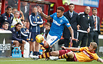 James Tavernier fouled by Alex Fisher