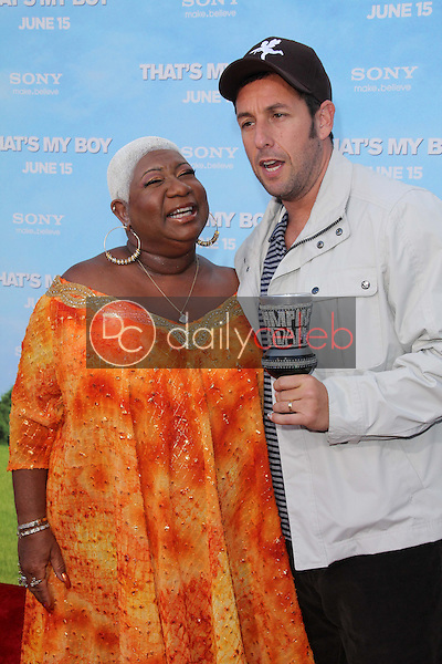 Luenell, Adam Sandler<br />