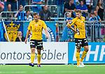 Stockholm 2014-07-07 Fotboll Allsvenskan Djurg&aring;rdens IF - IF Elfsborg :  <br /> Elfsborgs Anders Svensson och Elfsborgs Viktor Claesson deppar<br /> (Foto: Kenta J&ouml;nsson) Nyckelord:  Djurg&aring;rden DIF Tele2 Arena Elfsborg IFE depp besviken besvikelse sorg ledsen deppig nedst&auml;md uppgiven sad disappointment disappointed dejected