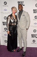 LOS ANGELES - NOV 8:  Rebecca King-Crews, Terry Crews at the Eva Longoria Foundation Gala at the Four Seasons Hotel on November 8, 2018 in Beverly Hills, CA