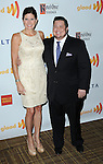 Mary Bono Mack and Stepson Chaz Bono arriving at the 23rd Annual GLAAD Media Awards, held at the Westin Bonaventure Hotel in Los Angeles, California. April 21,  2012