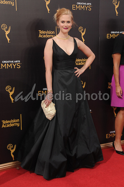 11 September 2016 - Los Angeles, California. Janet Varney. 2016 Creative Arts Emmy Awards - Day 2 held at Microsoft Theater. Photo Credit: Birdie Thompson/AdMedia