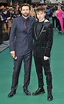 """David Tennant and Ty Tennant at the """"Tolkien"""" UK film premiere, Curzon Mayfair, Curzon Street, London, England, UK, on Monday 29th April 2019. <br /> CAP/CAN<br /> ©CAN/Capital Pictures"""