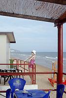Spiaggia di Sperlonga. Sperlonga beach.