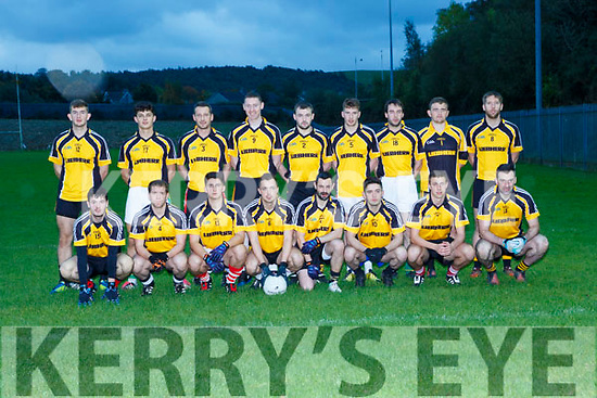 The Liebherr team that played Tricel in the Inter Firm County final in Lewis Road on Saturday evening