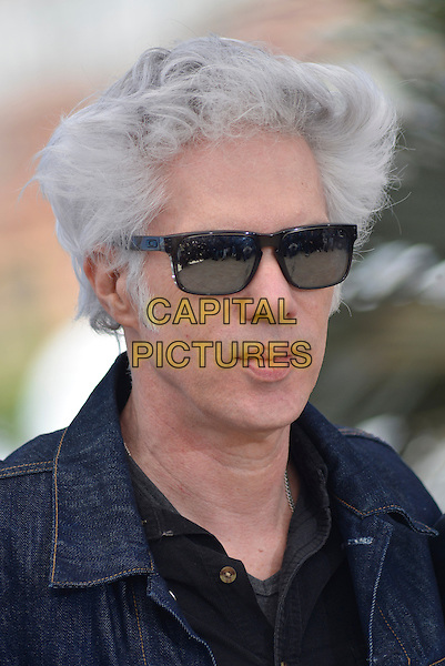 Jim Jarmusch.'Only Lovers Left Alive' photocall at the 66th Cannes Film Festival, France 25th May 2013.headshot portrait black  sunglasses shades reflection jean denim.CAP/PL.©Phil Loftus/Capital Pictures.