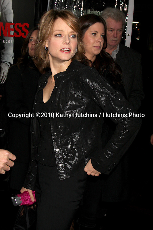 "Jodie Foster.arriving at the premiere of the ""Edge of Darkness"".Grauman's Chinese Theater.Los Angeles, CA.January 26, 2010.©2010 Kathy Hutchins / Hutchins Photo...."