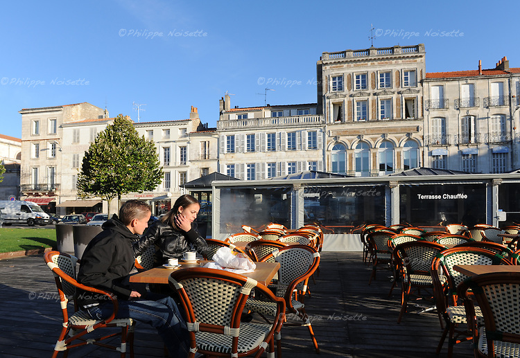 20081023 - France - Poitou-Charentes - Rochefort<br />La Place Colbert a Rochefort.<br />Ref : ROCHEFORT_017.jpg - &copy; Philippe Noisette.
