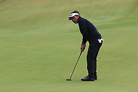 Thongchai Jaidee (THA) on the 6th green during Round 2 of the Irish Open at LaHinch Golf Club, LaHinch, Co. Clare on Friday 5th July 2019.<br /> Picture:  Thos Caffrey / Golffile<br /> <br /> All photos usage must carry mandatory copyright credit (© Golffile | Thos Caffrey)