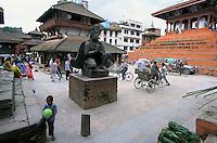 Durbar square in Kathmandu City, Nepal