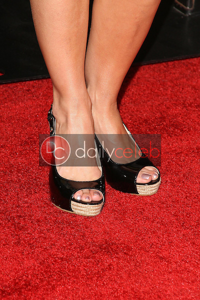 Cheryl Hines's shoes<br />