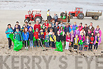 UNITY COMMUNITY: The Ballyheigue Clean Up group that took part in the Ballyheigue beach clean up on Good Friday...
