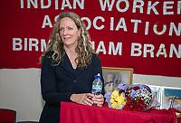 Vanessa Beeley, Public meeting Birmingham, Shaheed Udham Singh Welfare Centre, Handsworth