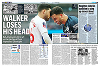 Mail On Sunday - 07-Apr-2019 - 'WALKER LOSES HIS HEAD' - Photo by Rob Newell (Camerasport via Getty Images)
