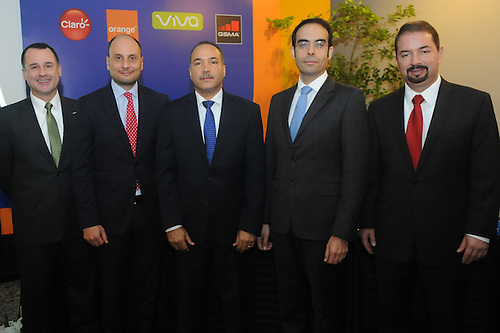 Ejecutivos de las empresas de telecomunicaciones antes de la empresa