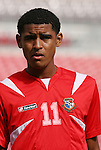 15 March 2008: Anibal Godoy (PAN). The Panama U-23 Men's National Team defeated the Cuba U-23 Men's National Team 4-1 at Raymond James Stadium in Tampa, FL in a Group A game during the 2008 CONCACAF's Men's Olympic Qualifying Tournament.