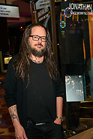 LAS VEGAS, NV - October 10, 2018: ***HOUSE COVERAGE*** Jonathan Davis pictured as Jonathan Davis of KORN is honored with a memorabilia display at Hard Rock Hotel & Casino in Las Vegas, NV on October 10, 2018. Credit: GDP Photos/ MediaPunch