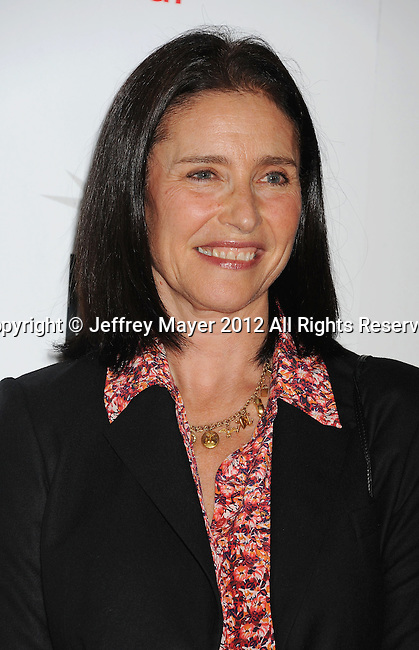 HOLLYWOOD, CA - NOVEMBER 01: Mimi Rogers arrives at the opening night gala premiere of 'Hitchcock' during the 2012 AFI FEST at Grauman's Chinese Theatre on November 1, 2012 in Hollywood, California.