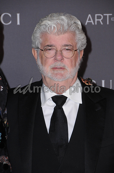 04 November  2017 - Los Angeles, California - George Lucas. 2017 LACMA Art+Film Gala held at LACMA in Los Angeles. Photo Credit: Birdie Thompson/AdMedia