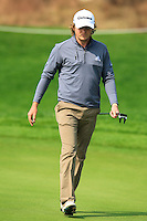 Eddie Pepperell (ENG) on the 9th green during Sunday's Final Round of the 2014 BMW Masters held at Lake Malaren, Shanghai, China. 2nd November 2014.<br /> Picture: Eoin Clarke www.golffile.ie