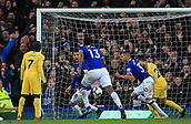 17th March 2019, Goodison Park, Liverpool, England; EPL Premier League Football, Everton versus Chelsea; Richarlison of Everton scores the opening goal after 48 minutes for 1-0