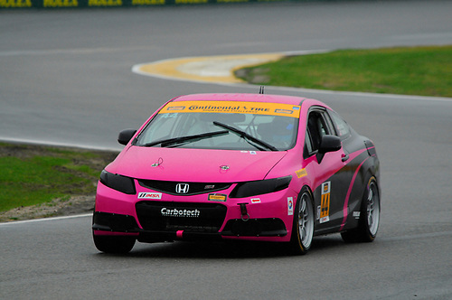 28-29 January, 2016, Daytona Beach, Florida, USA<br /> #44 Sarah Cattaneo, Owen Trinkler, Honda Civic Si<br /> © 2016, Jay Bonvouloir, ESCP
