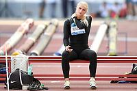Lina Muze of Latvia prepares to compete in the women's javelin throw at the IAAF Diamond League Golden Gala <br /> Roma 06-06-2019 Stadio Olimpico, <br /> Meeting Atletica Leggera <br /> Photo Andrea Staccioli / Insidefoto