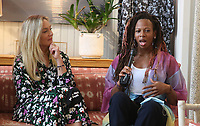 PACIFIC PALISADES, CA -June 28: Elisabeth Rohm, Rebecca Watson, at Elisabeth Rohm ihosts a RESPECT TALK on How To Cultivate More Bliss in Today's World at Veronica Beard in Pacific Palisades California on June 28, 2020. Credit: Faye Sadou/MediaPunch