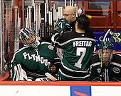 Jack Astedt (PSU - 30), Mike Freitag (PSU - 7), ? - The visiting Plymouth State University Panthers defeated the Wentworth Institute of Technology Leopards 2-1 on Monday, November 19, 2012, at Matthews Arena in Boston, Massachusetts.