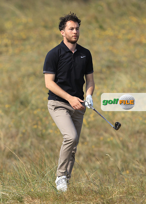 Gerard Dunne (Co. Louth) on the 14th during Round 4 of the East of Ireland Amateur Open Championship sponsored by City North Hotel at Co. Louth Golf club in Baltray on Monday 6th June 2016.<br /> Photo by: Golffile | Thos Caffrey