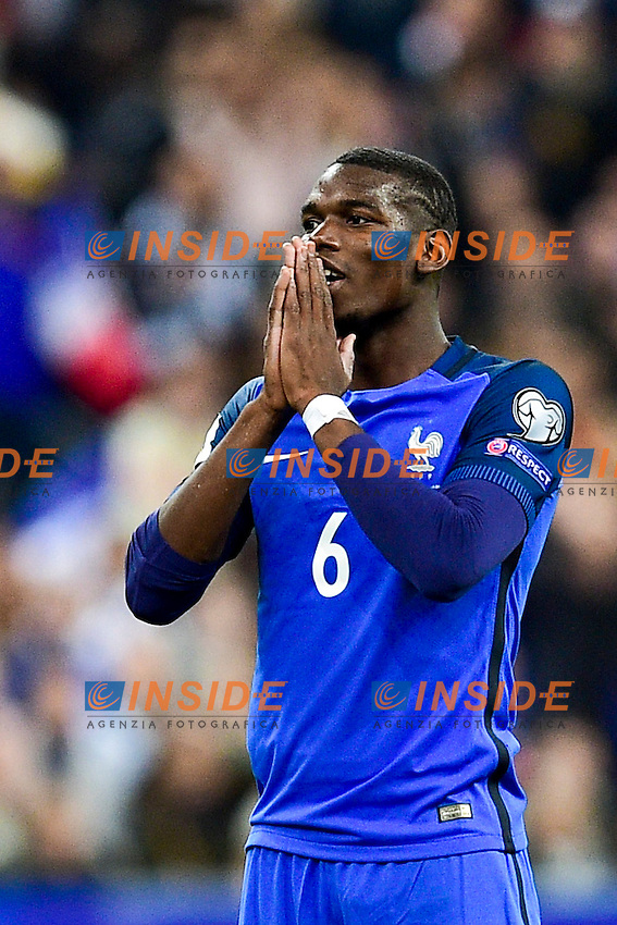 Paul Pogba (France) <br /> Parigi 07-10-2016 Calcio Qualificazioni mondiali <br /> Francia Bulgaria<br /> Foto Panoramic/Insidefoto <br /> ITALY ONLY