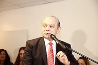 SÃO PAULO, SP - 30.07.2013:POSSE DO SUPERINTENTENTE DA SRTE/SP - Luiz Antônio de Medeiros, durante sua posse como superintendente da Superintendência Regional do Trabalho e Emprego na sede da SRTE/SP na região central de São Paulo, nesta terça-feira, 30. (Foto: Marcelo Brammer/Brazil Photo Press)