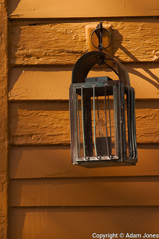 Lamp details, Shaker Village of Pleasant Hill, Kentucky
