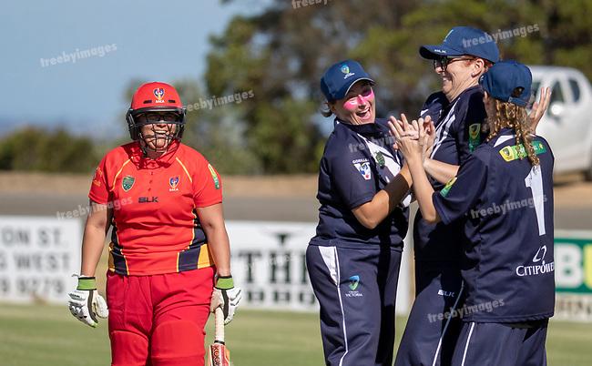 Cricket Australia<br /> 2018-19 National Inclusion Championships<br /> Womens Vic v SA Deaf match<br /> 20/1/19<br /> Photo: Grant Treeby