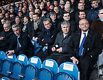 Rangers requisitioners Paul Murray, Scott Murdoch, Malcolm Murray and Alex Wilson listen intently to the opening speeches from the Rangers biard of directors at the AGM