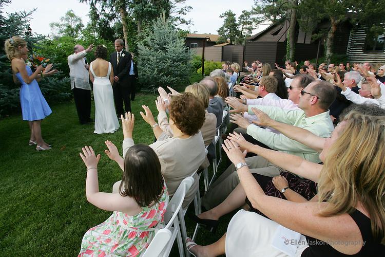 Wedding May 26, 2007  (ELLEN JASKOL/ROCKY MOUNTAIN NEWS).***