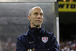 11 October 2008: United States head coach Bob Bradley (USA). The United States Men's National Team defeated Cuba Men's National Team 6-1 at RFK Stadium in Washington, DC in a CONCACAF semifinal round FIFA 2010 South Africa World Cup Qualifier.