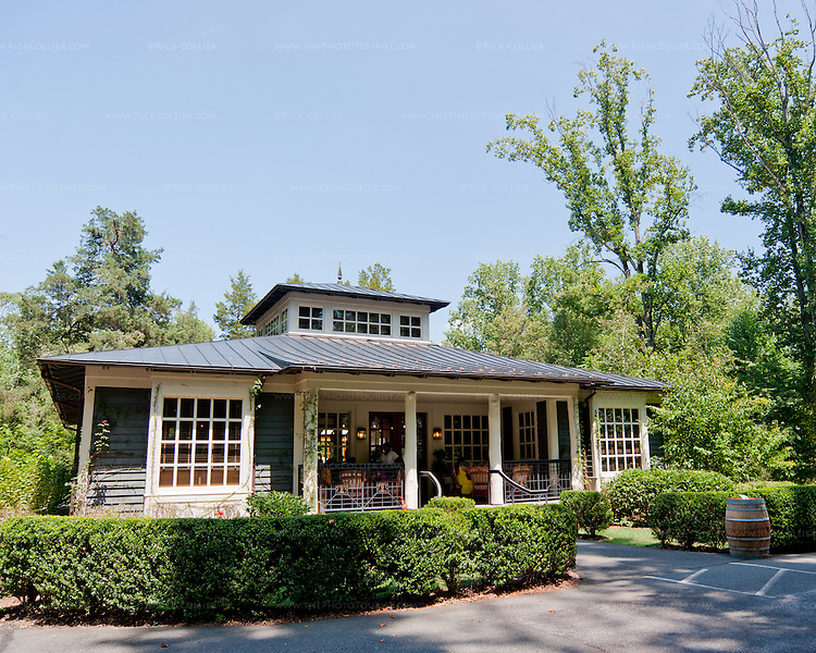 "The ""Farm Shop"" at Kluge Estate Vineyard and Winery hosts the tasting room."