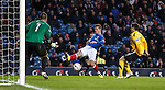 Ian Black tries his luck in front of goal
